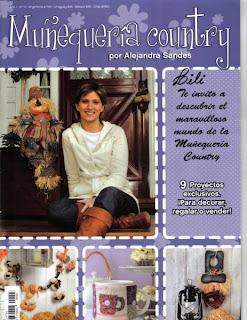 Muñequeria Country Año 1 Nro.3 Alejandra Sandes