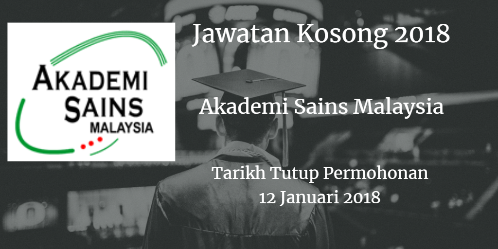 Jawatan Kosong ASM 12 Januari 2018