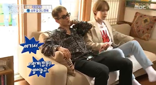 #WINNER MINO and JINWOO on MBC Help Me! Homes