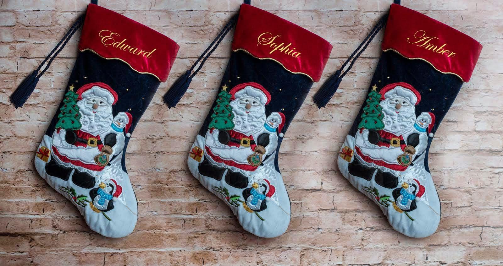 Personalised Christmas Stockings Uk