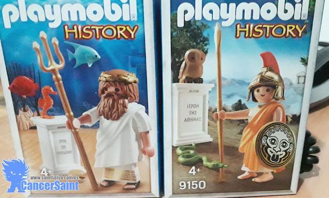 Atenea y Poseidón de Playmobil - 9150 - 9523