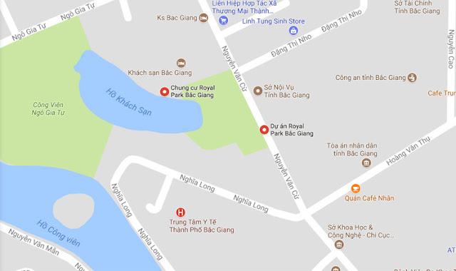 Vị trí vàng Aqua Park Bắc Giang