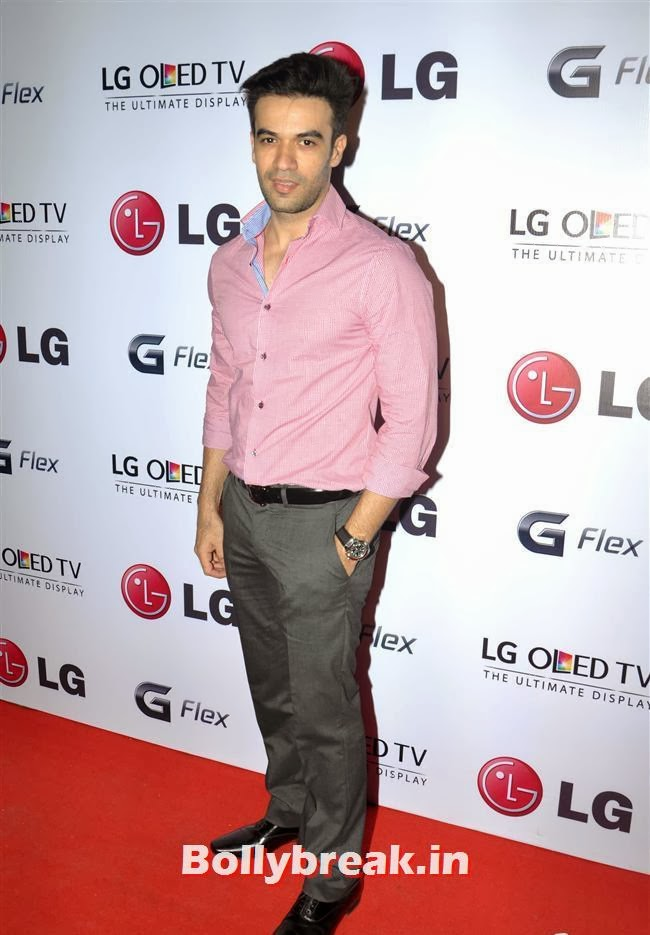 Punit Malhotra, Celebs at LG G Flex Smartphone Launch
