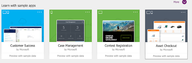 PowerApps Asset Checkout Template
