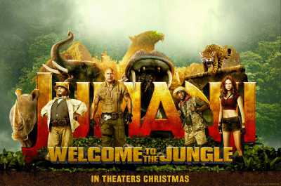 Jumanji Welcome To The Jungle 2017 English 300MB HDTS