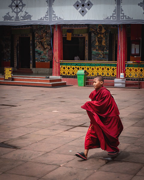 rumtek monastery sikkim travel blog photo