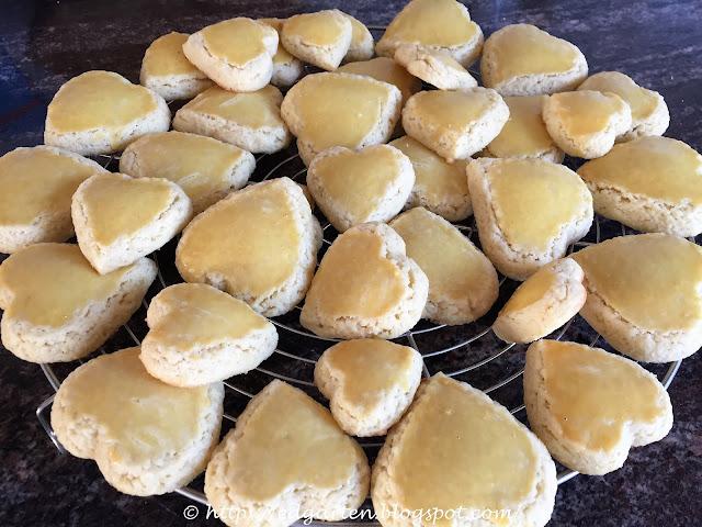 Mailänderli fertig gebacken