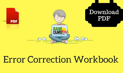 error correction workbook