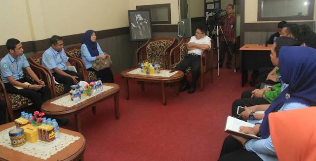 BPJS Kesehatan Sulsel Silaturahmi Bersama Wali Kota Palopo, Ini yang Dibicarakan