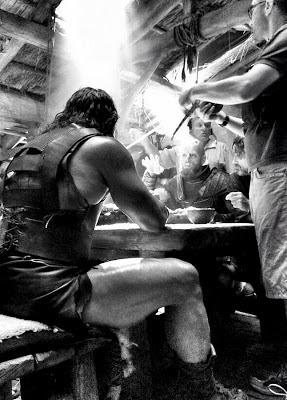 Dwayne Johnson La Filmari: Hercules