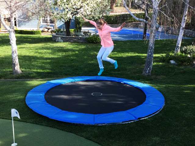 Jump Into Summer with an In-Ground Trampoline