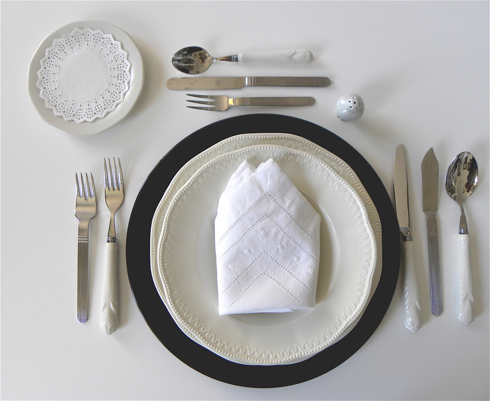 Gloriabendita comportamiento en la mesa protocolo for Protocolo cubiertos mesa