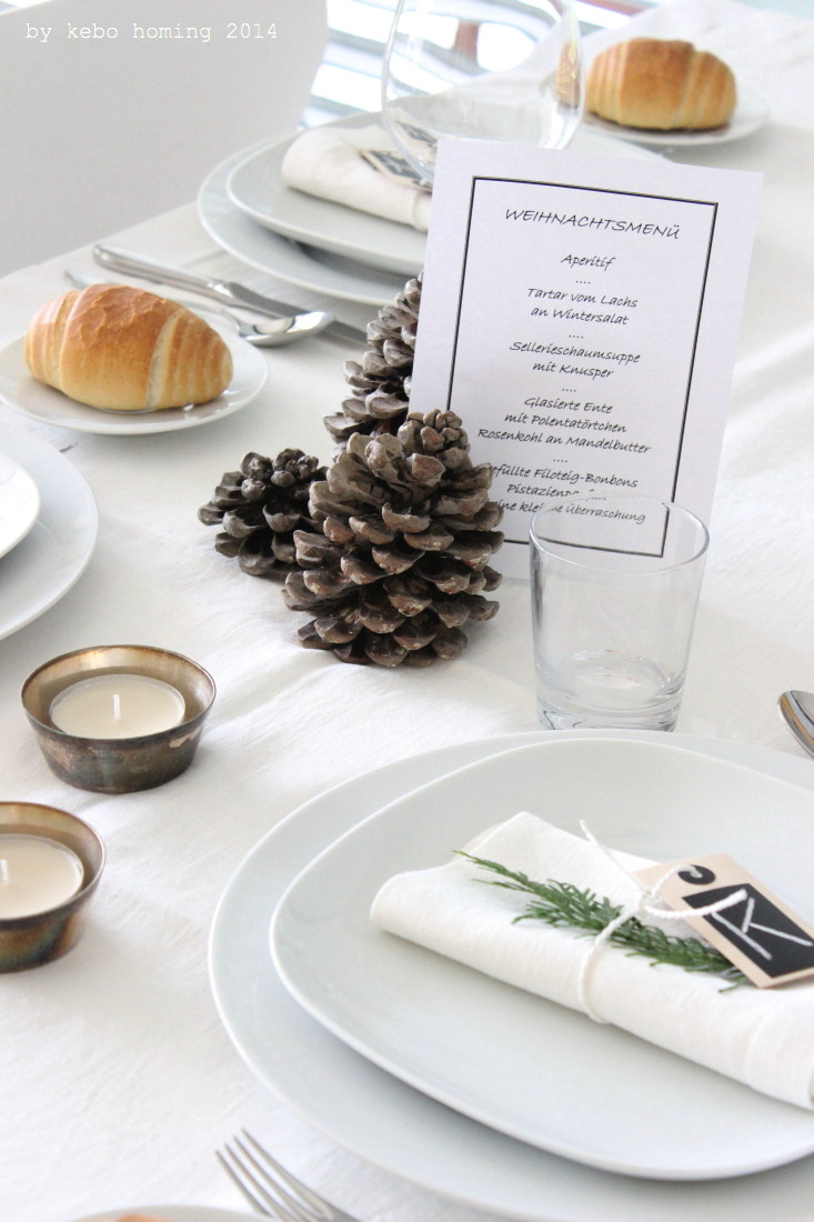 Table setting, Inspiration, Umfrage, Weihnachten, Dekoration,