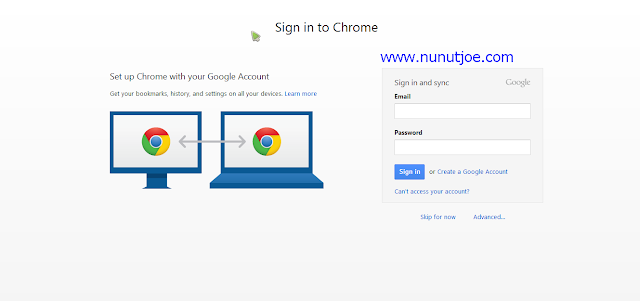 Cara Sinkronisasi google chrome