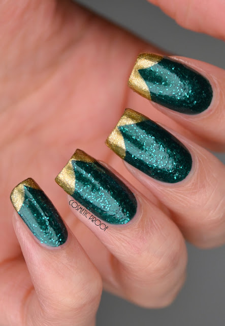 CND Vinylux Emerald Lights