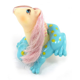MLP Foamy Year Six Water Colour Baby Sea Ponies G1 Pony