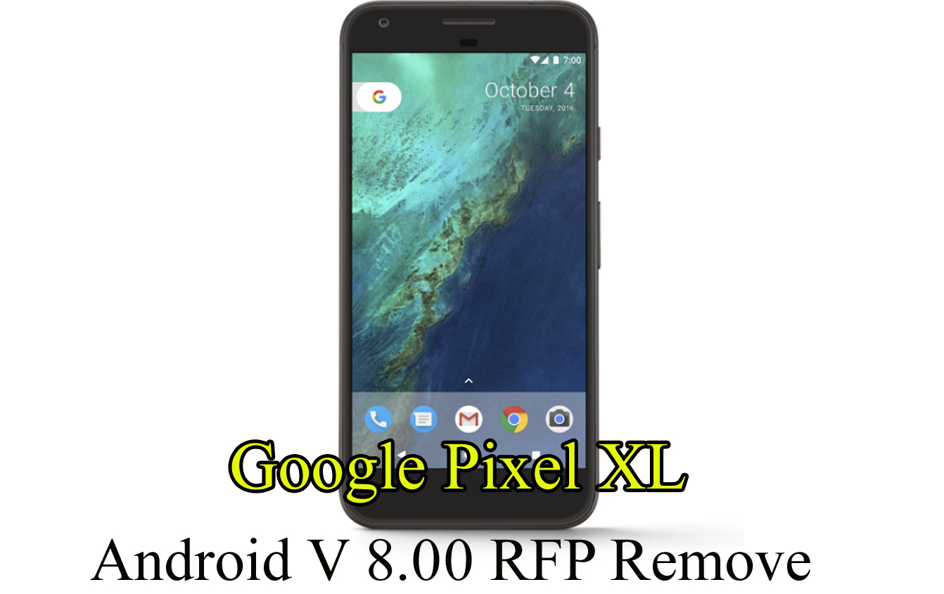 Android V 8.00 RFP Remove