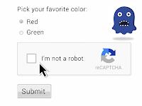 Bagaimana Cara memasang Captcha Google agar Script Tidak terkena Spammer?