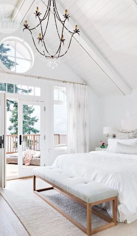 white on white bedroom design idea