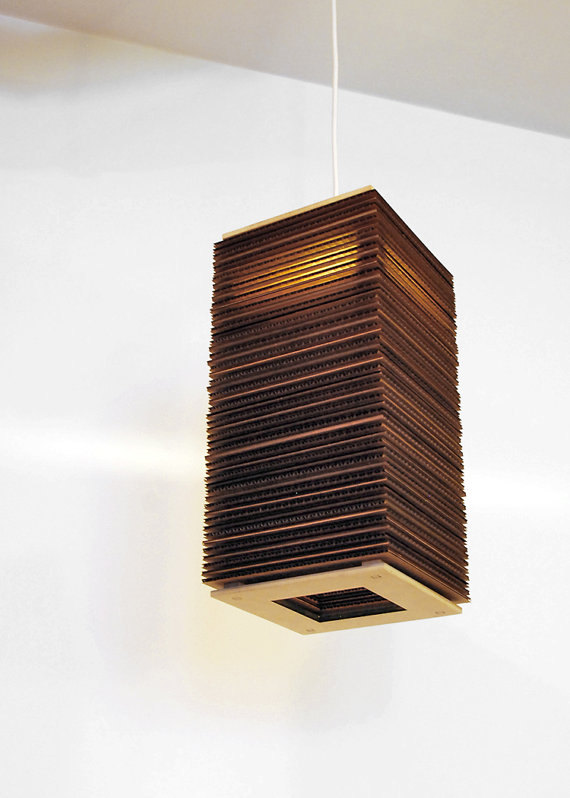 Creativity..!!: Creative Cardboard Lamps..!!