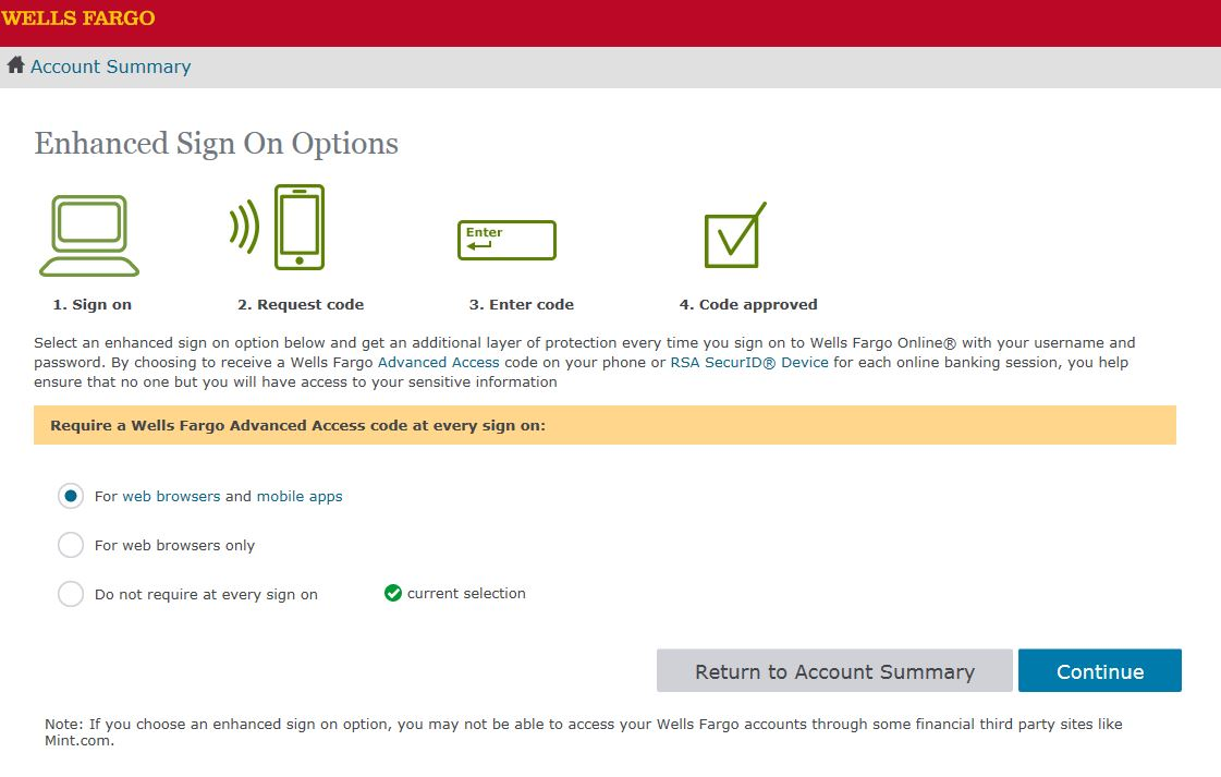 how to change your address on wells fargo online