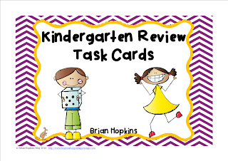 https://www.teacherspayteachers.com/Product/Kindergarten-Math-Review-Task-Cards-2550532
