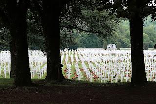 Kriegsgräber aus dem 1. Weltkrieg in Verdun Frankreich