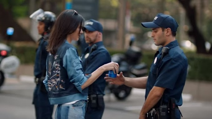 Kendall Jenner criticised over Pepsi advert