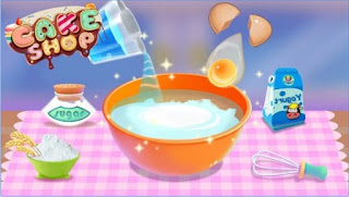 Game Cake Shop - Kids Cooking App