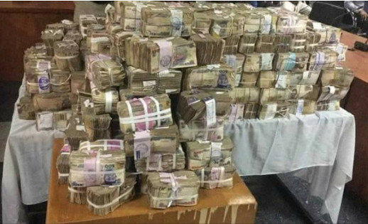 video efcc recovers n449m in lagos bureau de change chiddy 39 s blog. Black Bedroom Furniture Sets. Home Design Ideas