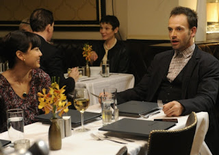 Jonny Lee Miller as Sherlock Holmes in Elementary Episode # 10 The Leviathan