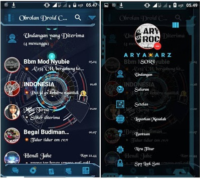 Droid Chat! Based Version 3.0.1.25 Apk | Futuristic Theme