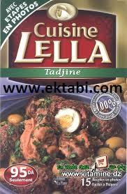 تحميل كتاب مطبخ لالة خاص بالطاجين cuisine Lella tadjine Spécial