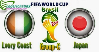 HD Video : 2014 World Cup::Match : Lvory Coast Vs. Japan 1