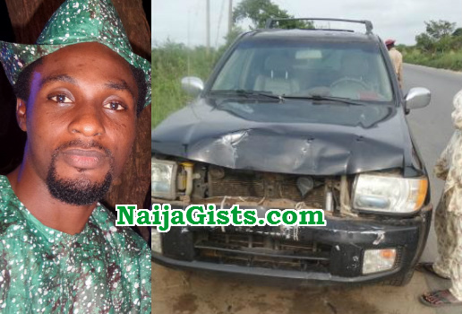 Image result for niyi johnson accident