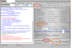 Vadafone Vdf 200 FRP Remove Done Without Upgrade System