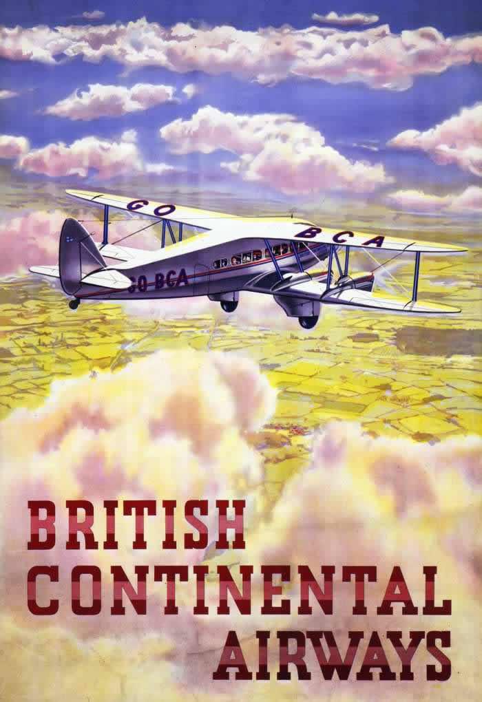 23 Wonderful Vintage Imperial Airways Posters From Between