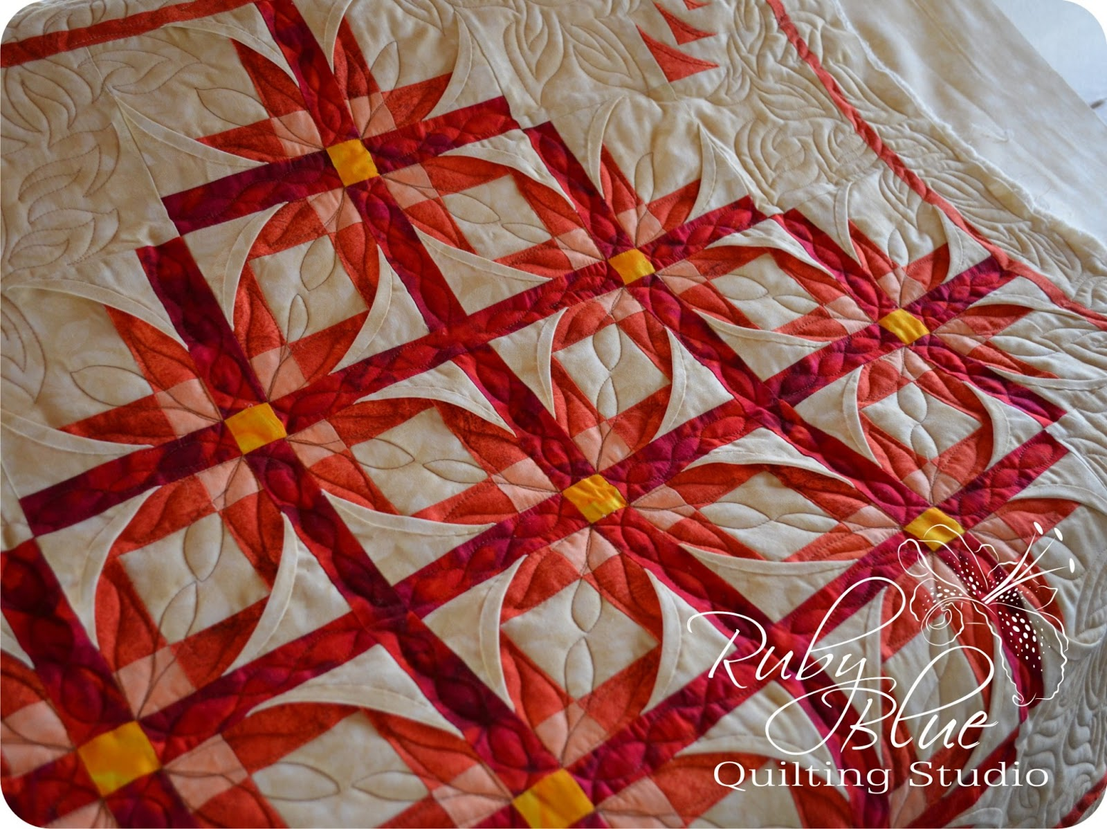 Ruby Blue Quilting Studio: Mexican Stars Round Two