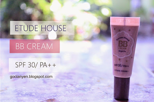 [REVIEW] ETUDE HOUSE - BB Cream SPF 30 / PA++ |G.C - 果千恩G.C - 果千恩: [REVIEW] ETUDE HOUSE - BB Cream SPF 30 / PA++