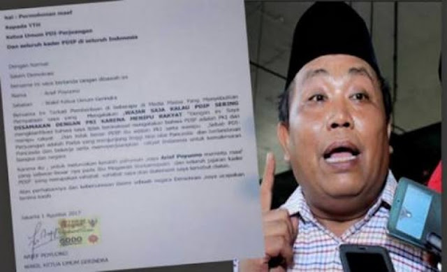 Waketum Gerindra yang Sebar Hoax PKI ini ternyata juga Tak rela Gus Dur jadi Pahlawan