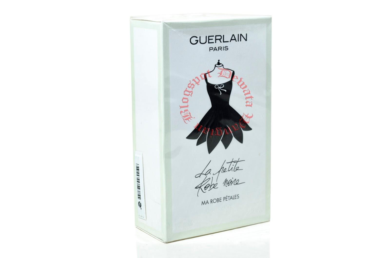 wangian perfume cosmetic original terbaik la petite robe noire ma robe petales by guerlain. Black Bedroom Furniture Sets. Home Design Ideas