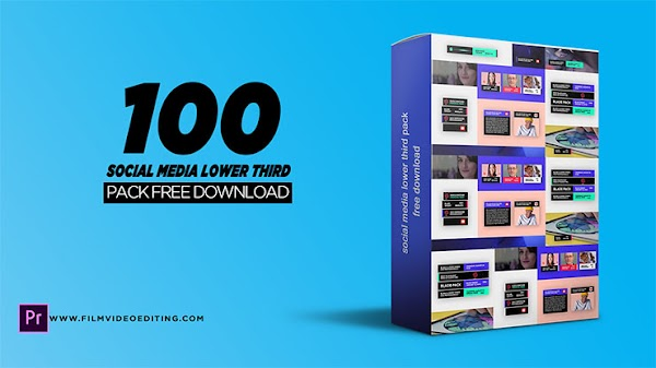 Free Social Media Lower Thirds Template Premiere Pro