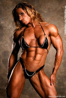 And pics of female body builders big boobs for
