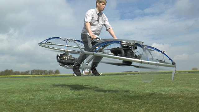 This incredible project makes us realize the dream of having a flying motorcycle
