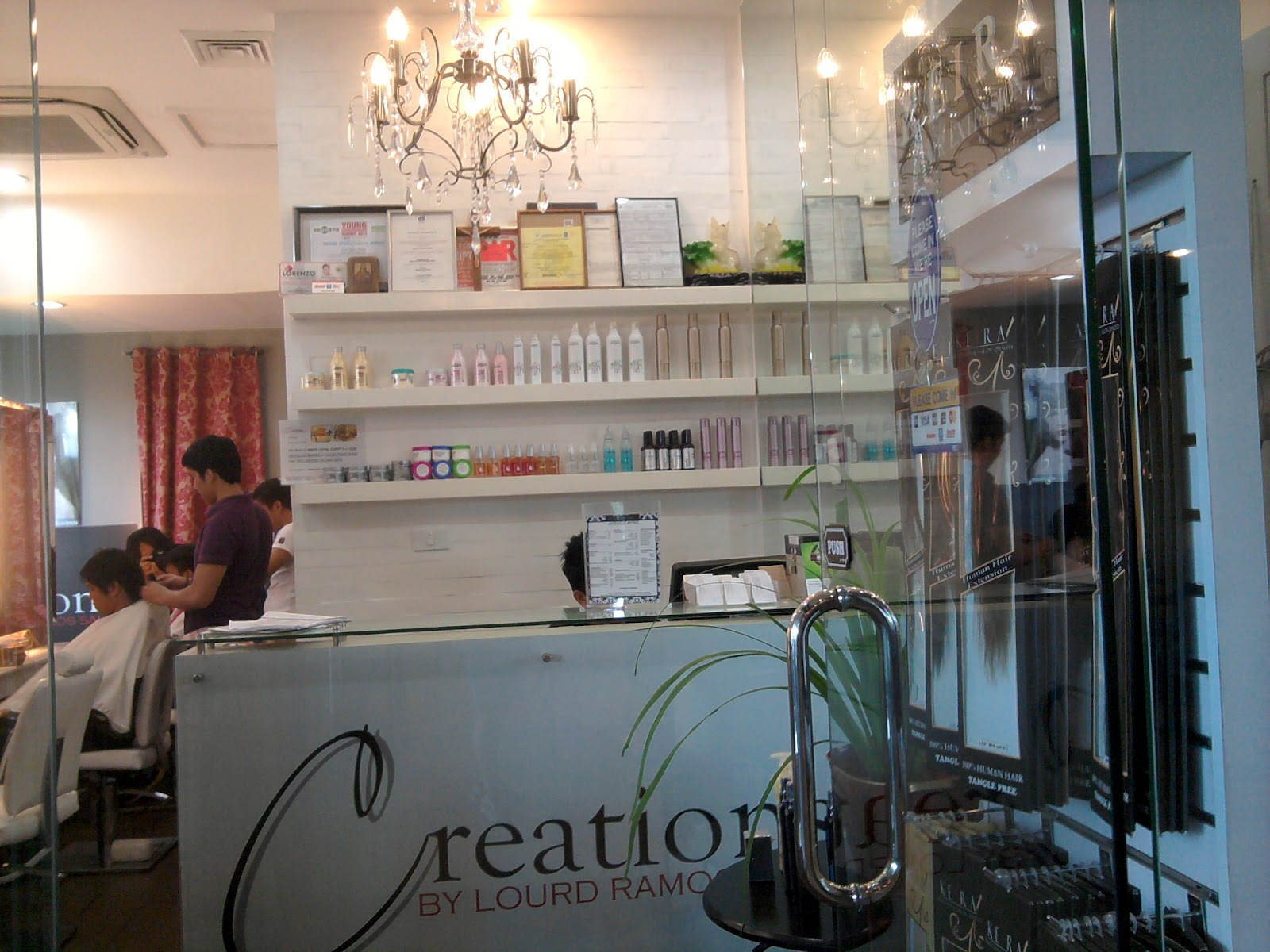 Salon Creation Lifestyle At 50 S Getting My Davines Treatment At Creation By