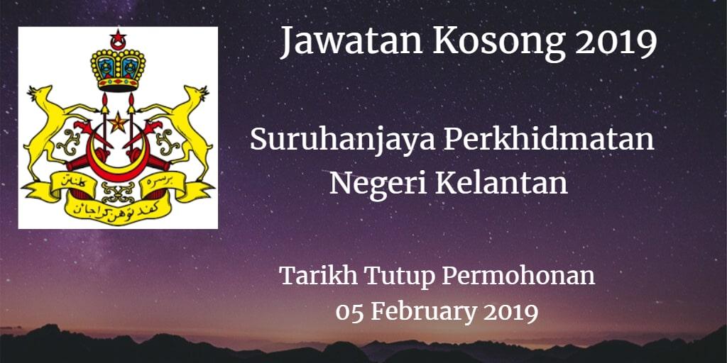 Jawatan Kosong SPNK 05 February 2019