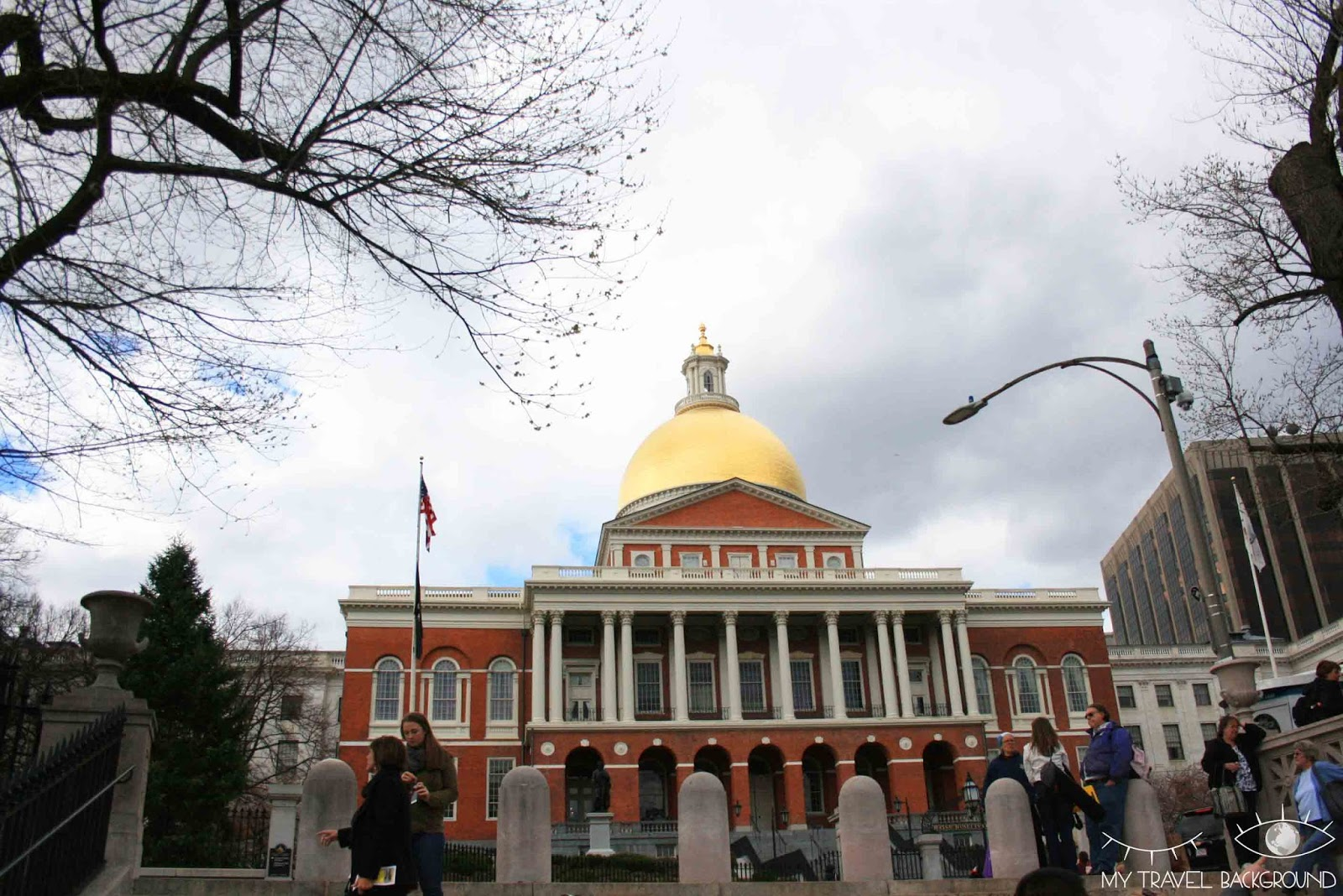 My Travel Background : Massachusetts State House