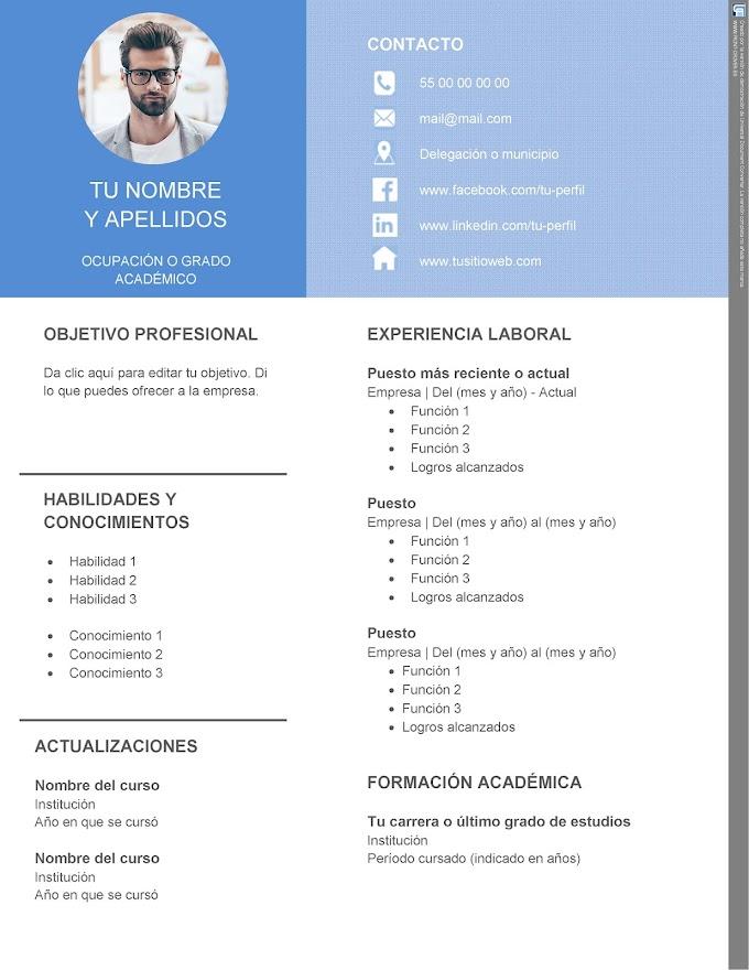 Modelo de Currículo actualizado