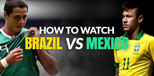 Brazil vs Mexico live Online Streaming TV Free