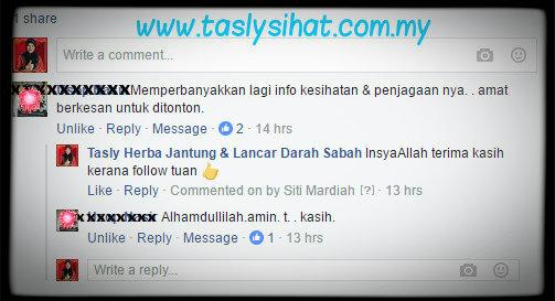 Fanpage Tasly Sabah